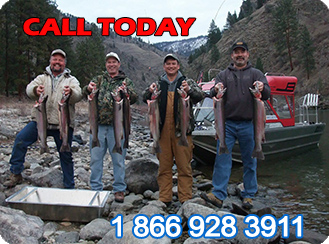Steelhead Fishing on the Salmon River, Riggins Idaho